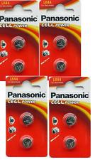 Panasonic Cell Power LR44 1.5V Alkaline Batterien 4 Packs
