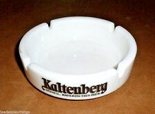 "Kaltenberg Bier Beer Ash Tray Milk Glass Rastal 5.5"" Vtg"