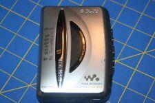 Sony Walkman Wm-Fx195 Silver Radio Cassette Player Working with issue