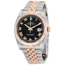 Rolex  18K Everose Gold Rolex Jubilee Automatic Mens Watch 116231BKRJ