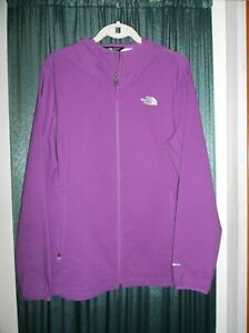 Womens North Face Nimble Lightweight Hooded Jacket XL Grape Purple New w/o tags