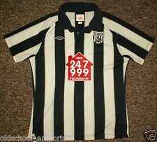 West Bromwich Albion / 2010-2011 Home - UMBRO - JUNIOR Shirt / Jersey. LB, 152cm
