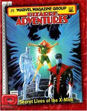 BIZARRE ADVENTURES #25 (1981) Secret Lives of the X-Men