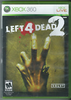 🔥🔥🔥 Left 4 Dead 2 (Microsoft Xbox 360, 2009) (w/ Manual) 🎮🎮🎮