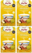 Yogi tea himalaya ginger harmony - 17 sachets (pack de 4)