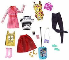Barbie Pink Passport Travel Fashions FLB31