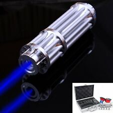 High Power laser bleu faisceau Lampe de Poche Torche Light Petit Portable 5 têtes