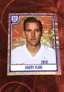 HARRY KANE 2014-15 PANINI  ROOKIE STICKER ENGLAND COLLECTION  NATIONAL TEAM #318