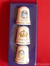 UK & Ireland Royal Commemorative Collectable Sewing Thimbles
