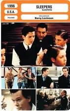 FICHE CINEMA : SLEEPERS - De Niro,Bacon,Pitt,Hoffman,Levinson 1996