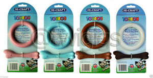 HI-CRAFT Toyboy Flavoured Nylon Dog Chew Bone Ring Pull Jumbo Mighty & Puppy