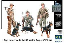 MasterBox MB35155 1/35 Dogs in service in the US Marine Corps, WW II era