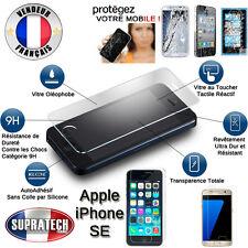 Protection d'Ecran en Verre Trempé Contre les Chocs pour Apple iPhone SE
