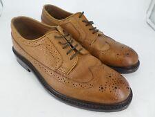 Clarks Mens Edward Limit Brown Brogue Leather Shoes UK 6 EU 39 LN085 PP 03
