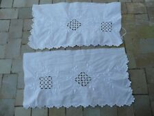 broderies  anciennes coton