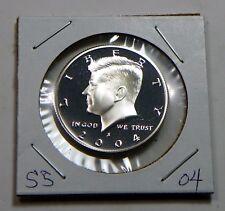 2004 S Silver Proof Kennedy Half Dollar Uncirculated 90% SILVER U.S. Mint