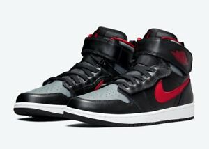 Nike Air Jordan 1 Hi FlyEase | Mens Size 15 | Black & Smoke Grey | CQ3835-006 ☑️