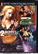 EROTIC HORROR DOUBLE WITCHES OF BREASTWICK 1 & 2