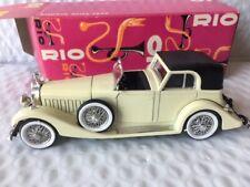 Rio #61 Hispano Suiza 1932 1:43 Scale MIB