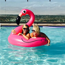 120cm Inflatable Swan swim ring Leisure Float Toy Rideable Raft Swimming Pool