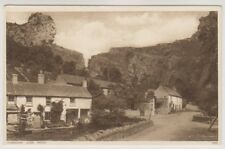 Somerset postcard - Cheddar, Lion Rock
