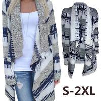 cardigan en pull patchwork tricoter manteau une veste à manches longues