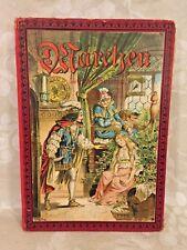 Grimm's Marchen Book Mir Farbendrud Bildern M Schaefer Berlin Globus Derlag GMBH