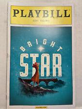 BRIGHT STAR PLAYBILL BOOK BROADWAY NEW YORK MAY 2016 STEVE MARTIN OBC