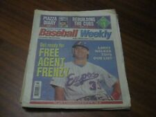USA Today Baseball Weekly - March 14, 1995 Larry Walker / Montreal Expos