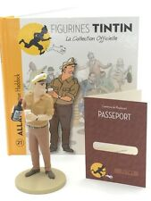 Collection Officielle Tintin - Figurine Tintin N21 Allan LIVRET PASSEPORT