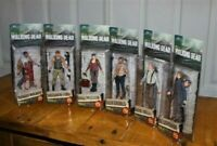 McFarlane Toys The Walking Dead TV Series 6 Complete Set (6) 2014 New Clean
