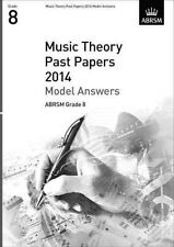 Music Theory Past Papers 2014 Model Answers ABRSM Grade 8 9781848497191