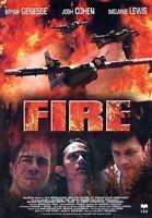 Fire DVD NUOVO Sigillato Lewis jenesse cohen
