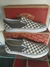 MEN'S VANS CLASSIC CHECKERBOARD TRAINER'S SIZE UK 10