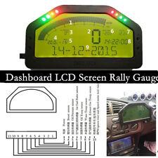 Dashboard LCD Screen Rally Gauge ,Dash Race Display DO904 DPU Full sensors