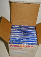 TEN Sealed New Maxoptix Tahiti 1GB Glass Media Magneto Optical Disk Cartridges