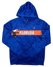 NIKE AIR JORDAN Florida Gators Hoodie Jacket Blue Large L ~ New