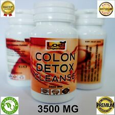 60 Detox Colon Cleanse Capsules Weight loss Diet Slimming pills Digestive detox