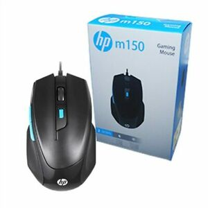 HP M150 Wired USB Gaming Optical Mouse, 6 button, 1000/1600 Selectable DPI