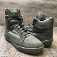 Vasque Women's  High Top Hiking Trail Boots Green Suede 7585 Sz 7 M