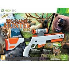 X360 Cabela's Big Game Hunter 2012 BUNDLE Gioco + Fucile Italiano [ XBOX 360 ]