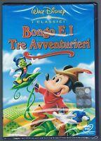 Bongo E I Tre Avventurieri (Classici Disney) - Dvd Nuovo Sigillato