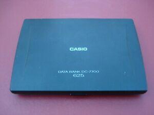 Casio Data Bank DC-7700 - Vintage Organizer and Calculator