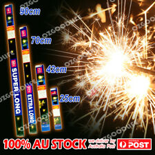 25/42/70/90CM Large Sparklers Party Sparkler Birthdays Party Wedding AU STOCK