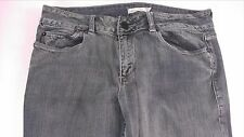 Silence + Noise Skinny Jeans Womens SZ 30 Gray Ankle Crop Zip 34 x 29 Actual