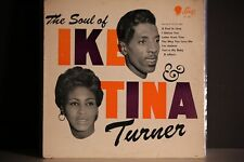 IKE AND TINA TURNER, THE SOUL OF LP 1960 RARE SUE LABEL