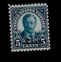 US 1929 Sc# 663 -5 c  Roosevelt  Kansas Overprint-Mint NH-Vivid Color-Centered