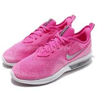 Nike Wmns Air Max Sequent 4 Laser Fuchsia Silver Women Running Shoes AO4486-601