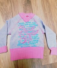 Designer Girls unicorn  fleece lined  Jumper age 3   Nolita