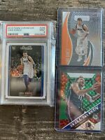 Luka Doncic Lot PSA HOLO REFRACTOR mosaic Illusions Insert Parallel Rookie Rc 💎